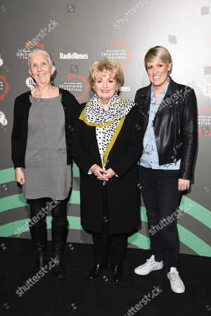 Stock Image of Ann Cleeves, Brenda Blethyn and Stephanie McGovern