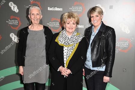 Ann Cleeves, Brenda Blethyn and Stephanie McGovern
