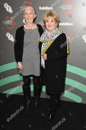 Ann Cleeves and Brenda Blethyn