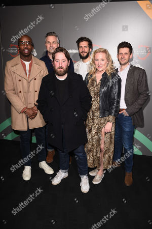 Editorial photo of 'Ghosts' TV show photocall, BFI and Radio Times Television Festival, London, UK - 13 Apr 2019