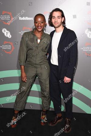 T'nia Miller and Maxim Baldry