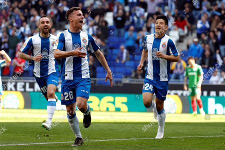 Editorial image of RCD Espanyol vs. Deportivo Alaves, Cornella-El Prat (Barcelona), Spain - 13 Apr 2019