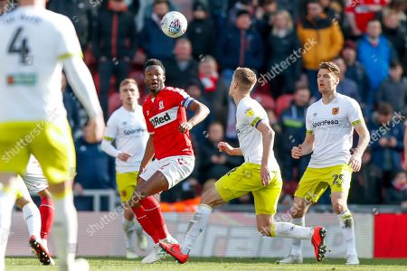 Middlesbrough midfielder Mikel John Obi (2)  during the EFL Sky Bet Championship match between Middlesbrough and Hull City at the Riverside Stadium, Middlesbrough