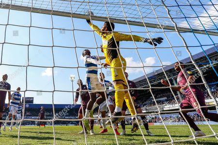 Editorial photo of Queens Park Rangers v Swansea City, EFL Sky Bet Championship - 13 Apr 2019