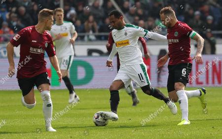 Editorial image of Hannover 96 vs. Borussia Moenchengladbach, Hanover, Germany - 13 Apr 2019
