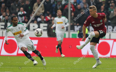 Editorial picture of Hannover 96 vs. Borussia Moenchengladbach, Hanover, Germany - 13 Apr 2019