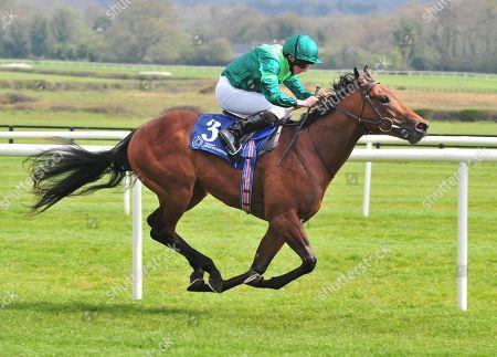 NAAS MONARCH OF EGYPT and Ryan Moore win The Irish Stallion Farms EBF Race. Healy Racing