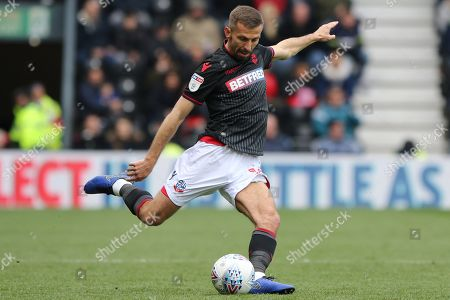 Bolton Wanderers midfielder Gary O'Neil during the EFL Sky Bet Championship match between Derby County and Bolton Wanderers at the Pride Park, Derby