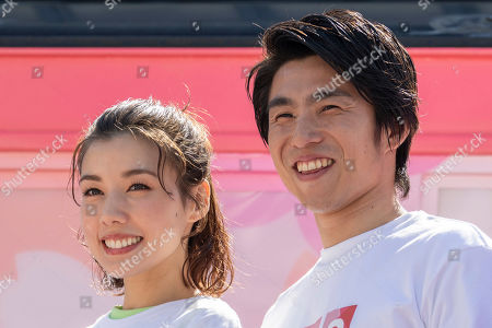 Editorial picture of 500 Days to Go until the Tokyo Paralympic Games event, Toyosu - 13 Apr 2019