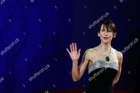 Stock Picture of Sophie Marceau arrives for the opening ceremony red carpet event of the 9th Beijing International Film Festival, in Beijing, China, 13 April 2019. The film festival runs from 13 to 20 April.