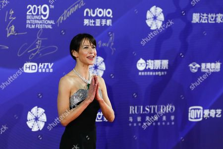 Sophie Marceau arrives for the opening ceremony red carpet event of the 9th Beijing International Film Festival, in Beijing, China, 13 April 2019. The film festival runs from 13 to 20 April.