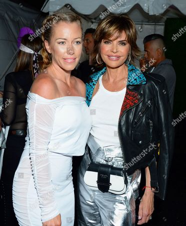 Stock Photo of Kendra Wilkinson and Lisa Rinna