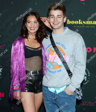 Stock Image of Paris Berelc and Jack Griffo