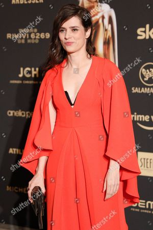 Nora Tschirner arrives for the Romy Gala television award ceremony at the Hofburg palace in Vienna, 13 April 2019.