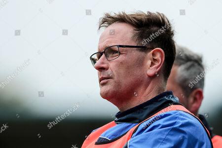St. Sylvester's vs Na Fianna. St. Sylvesters manager Paul Clarke