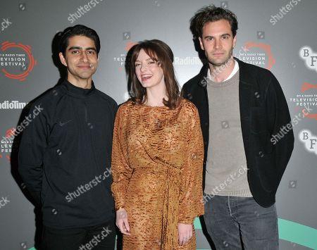 Stock Picture of Viveik Kalra, Dakota Blue Richards and Tom Bateman
