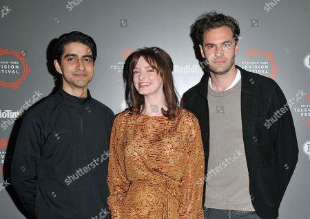Viveik Kalra, Dakota Blue Richards and Tom Bateman