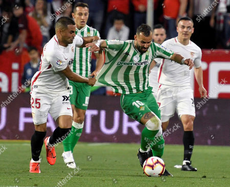 Editorial photo of Sevilla FC vs Real Betis, Seville, Spain - 13 Apr 2019