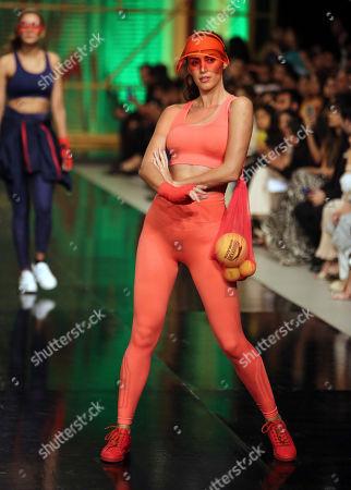 Editorial image of Fashion Week, Lahore, Pakistan - 13 Apr 2019