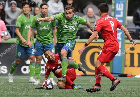 Editorial image of MLS Toronto FC Sounders Soccer, Seattle, USA - 13 Apr 2019