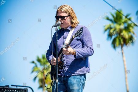 Stock Image of Ty Segall performs at the Coachella Music & Arts Festival at the Empire Polo Club, in Indio, Calif