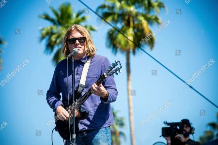Stock Photo of Ty Segall performs at the Coachella Music & Arts Festival at the Empire Polo Club, in Indio, Calif