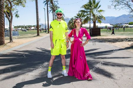 Editorial photo of 2019 Coachella Music And Arts Festival, Weekend 1, Day 2, Indio, USA - 13 Apr 2019