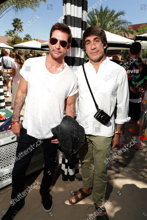 Stock Picture of Dylan McDermott, Brent Bolthouse