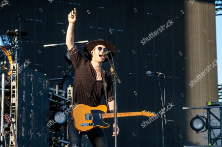 Tom Howie of Bob Moses performs at the Coachella Music & Arts Festival at the Empire Polo Club, in Indio, Calif
