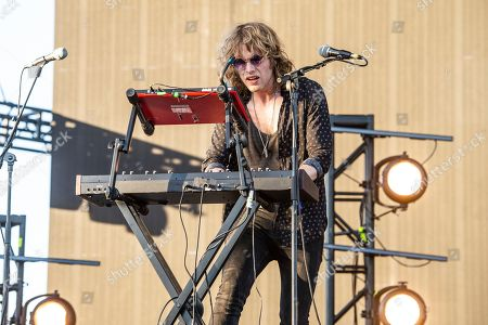 Jimmy Vallance of Bob Moses performs at the Coachella Music & Arts Festival at the Empire Polo Club, in Indio, Calif
