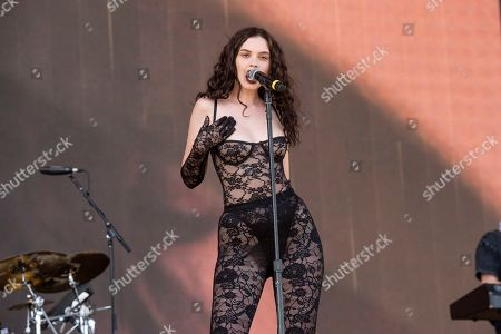 Editorial image of 2019 Coachella Music And Arts Festival - Weekend 1 - Day 2, Indio, USA - 13 Apr 2019