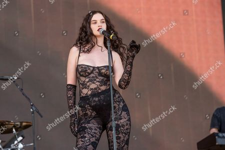Stock Picture of Sabrina Claudio performs at the Coachella Music & Arts Festival at the Empire Polo Club, in Indio, Calif