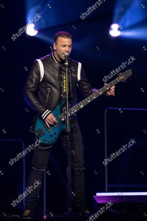Stock Picture of Muse - Chris Wolstenholme
