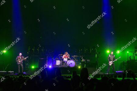 Muse - Matt Bellamy, Dominic Howard and Chris Wolstenholme