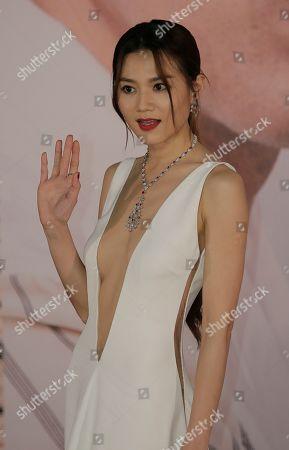 Editorial picture of Film Awards, Hong Kong, Hong Kong - 14 Apr 2019