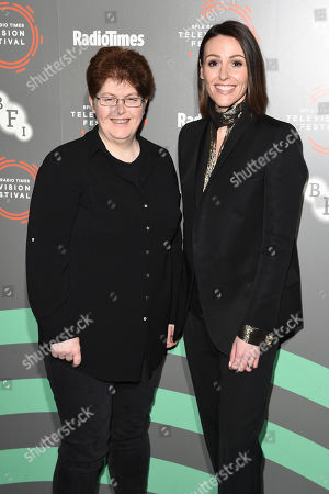 Sally Wainwright and Suranne Jones