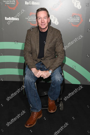 Editorial image of Frank Gardner photocall, BFI and Radio Times Television Festival, London, UK - 14 Apr 2019