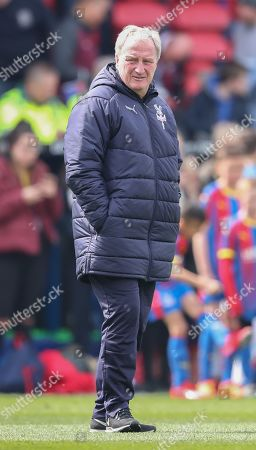 Stock Picture of Crystal Palace  assistant manager Ray Lewington