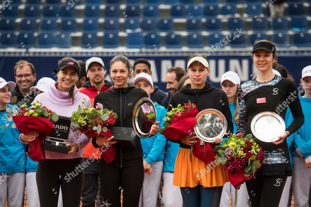 Editorial picture of WTA tennis tournament, Lugano, Switzerland - 14 Apr 2019