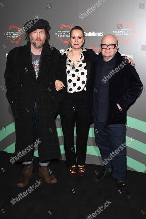 Paul Kaye, Samantha Morton and Dominic Savage