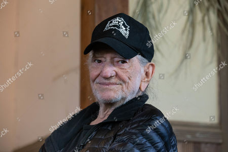 5d1d6ad83 Willie Nelson discusses his new album Ride Editorial Stock Photo ...