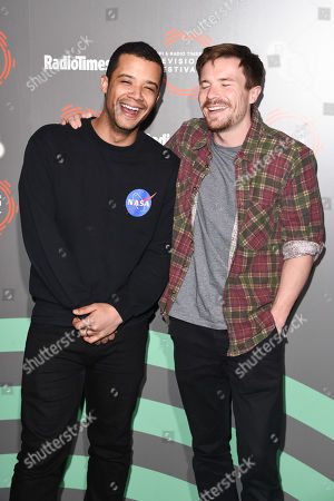 Jacob Anderson and Joe Dempsie
