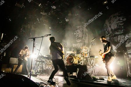 Editorial picture of Foals in concert at Brooklyn Steel, New York, USA - 13 Apr 2019
