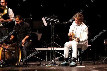 Goran Bregovic in concert at Teatro degli Arcimboldi