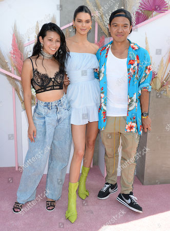 Raissa Gerona, REVOLVE founder and CEO, Kendall Jenner and Michael Mente