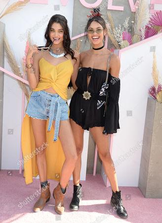 Stock Photo of Daniela Braga and Daiane Sodre