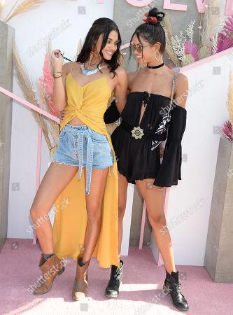 Stock Image of Daniela Braga and Daiane Sodre