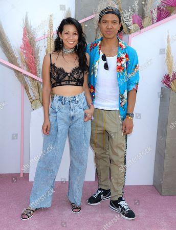 Stock Picture of Raissa Gerona and Michael Mente