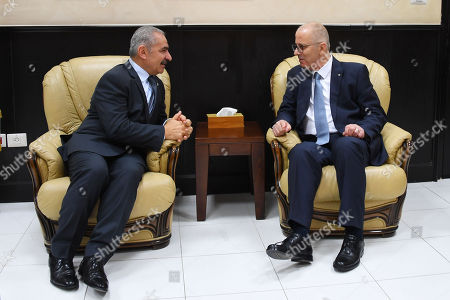 Editorial photo of First day in office of the 18th Palestinian government, Ramallah, Palestine - 14 Apr 2019