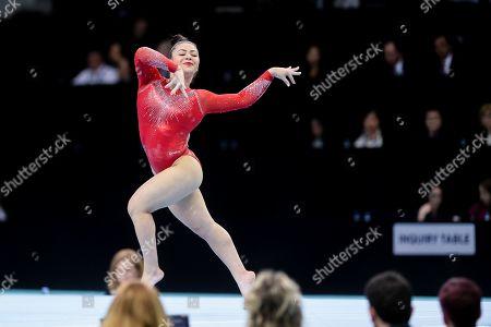 Editorial picture of European Artistic Gymnastics Championships 2019, Szczecin, Poland - 14 Apr 2019